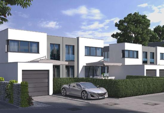 Fotografie Doppelhäuser in Maichingen