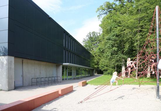 Fotografie Sporthalle Eichholzschule Sindelfingen